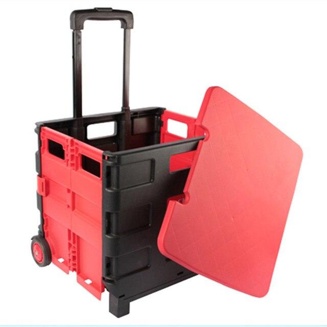 Merveilleux KUNDUI Foldable Car Storage Box Finishing Rolling Luggage Hard Shell  Wheeled Suitcase Travel Large Capacity