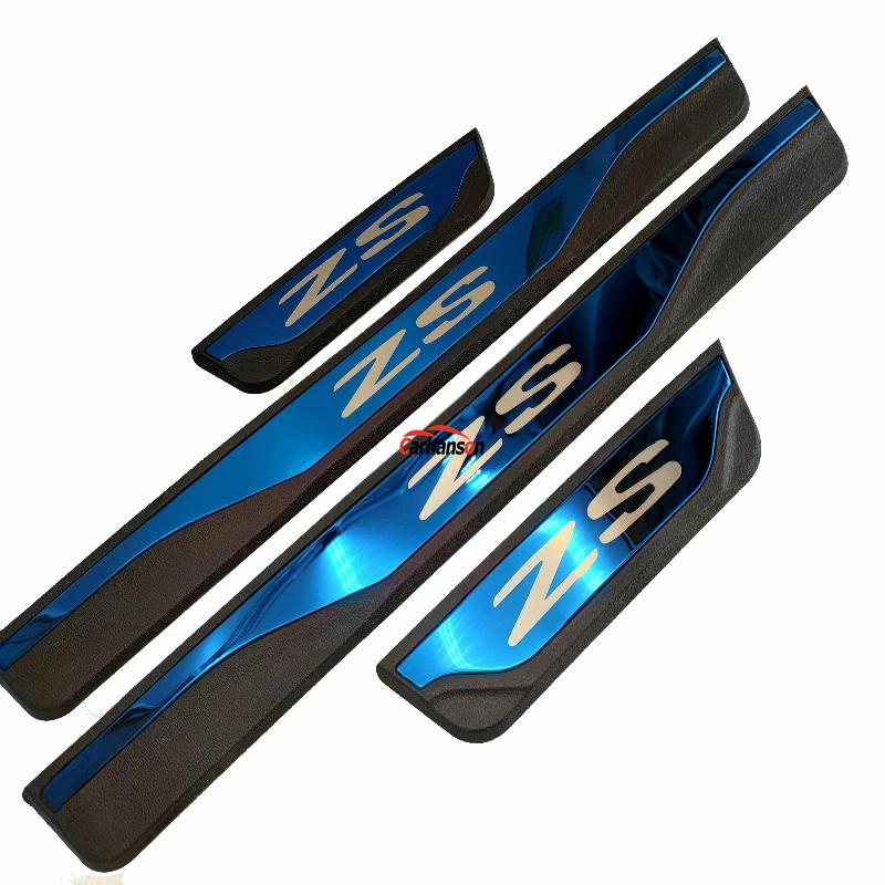 Car Styling Styling For Mg Zs 2017 2019 Car Accessories Stainless Steel Door Sill Trim Scuff Paltes Protector Guard Car Stickers in Car Stickers from Automobiles Motorcycles