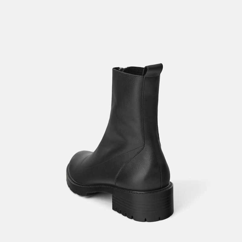Женские ботинки martin на платформе; женские ботильоны на молнии спереди; коллекция 2019 года; Модные женские ботинки на не сужающемся книзу массивном каблуке; женская зимняя обувь на платформе