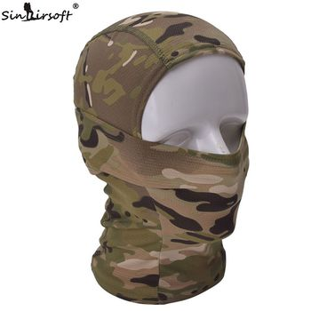Multicam CP Camouflage Balaclava Full Face Mask Cycling Hunting Tactical Airsoft Cap 2