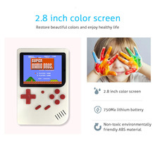 2.8 inch Retro Video Game Console 8 Bit Portable Mini Handheld Players Built-in 500 Games For Classic Consola