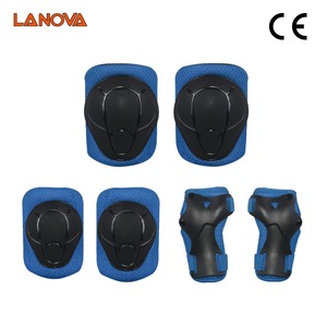 Image 5 - LANOVA 6pcs/Set protective patins  Set Knee Pads Elbow Pads Wrist Protector  Protection for Scooter Cycling Roller Skating
