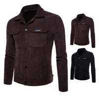 AOWOFS NEW High Quality Wash Corduroy Jacket Mens Military Tactical Army Jacket Men Autumn Winter Clothes