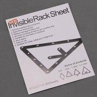 Billiard Game ball Rack Magic Rack Invisible Rack sheet PVC 6pcs/set For 8ball/9ball/10ball