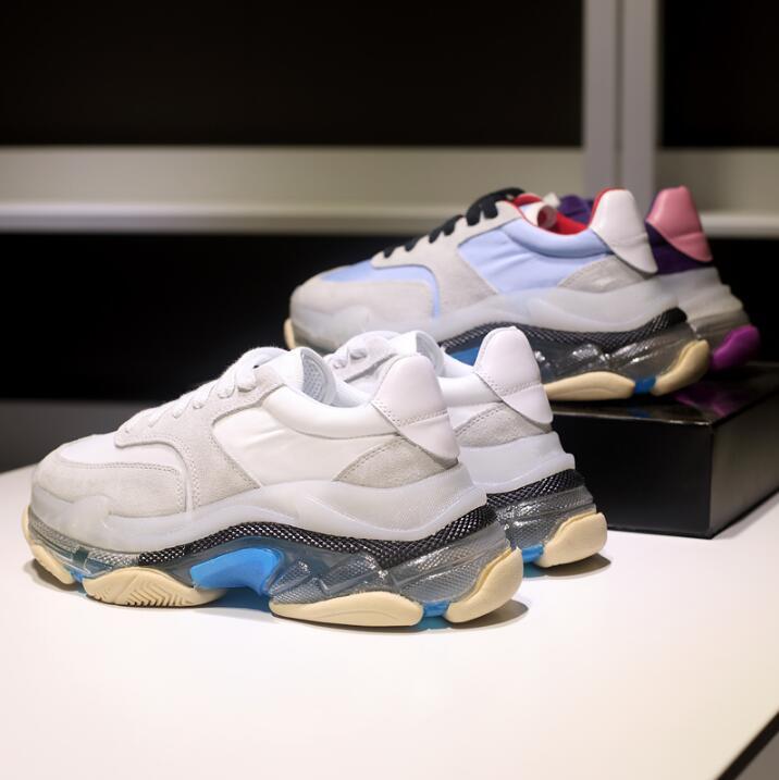 Chaussures Chaussures De Sac Transparent Épais 1 Nouvelle Sport Marche 2 3 Kelly 6 5 4 2019 wztII