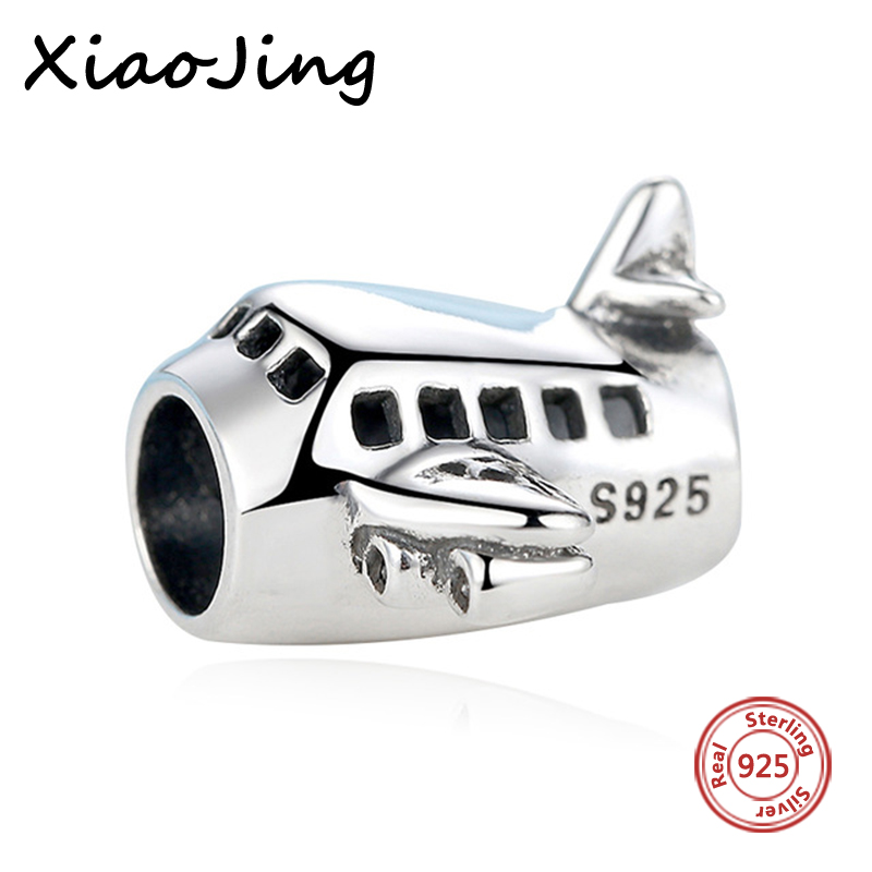 2017 New Arrival 925 Charms Original Plane Beads Antique Fit Authentic Pandora Bracelets Pendants Jewelry Gift