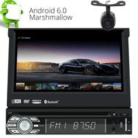 7 Android 6 0 Car Stereo 1Din GPS CD DVD Player Support WIFI 3G 4G Bluetooth