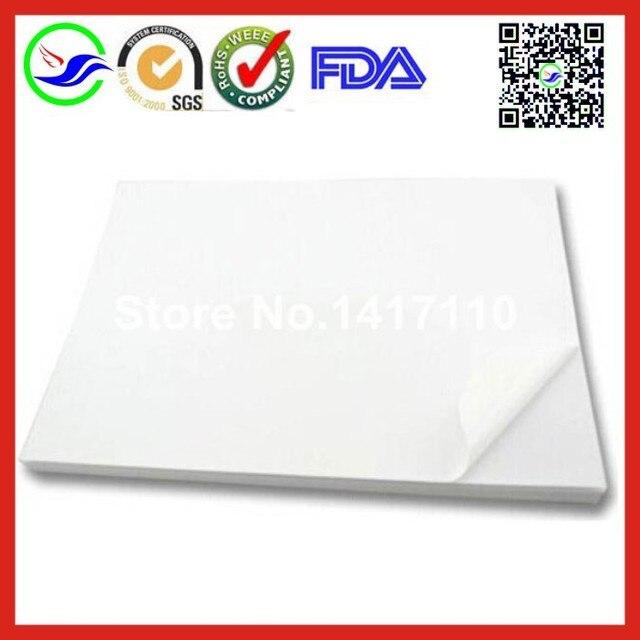800 sheets a4 label paper white pvc sticker label paper for laser printer sticker paper