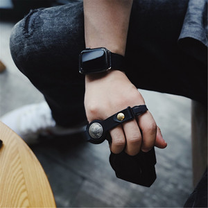 Image 5 - Handmade Leather Camera Wrist Hand Strap For Ricoh Leica Fuji Sony Olympus Canon Nikon Mirrorless Camera