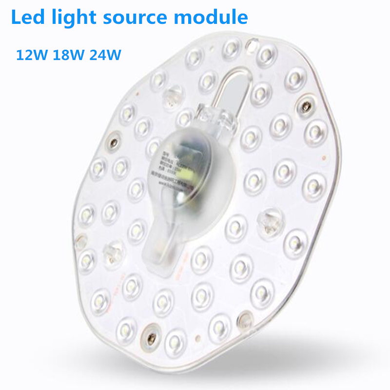 Panel Light Round Light Board Ceiling Lights Replace The Light Source Module Lamp Beads Patch