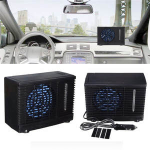 DC 12 V Evaporative Car air Conditioner 35 W Black Car-styling Portable Mini Cooling