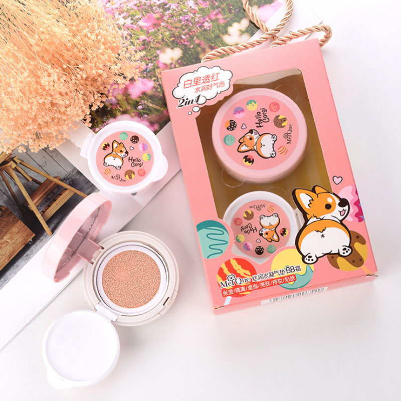 Beauty makeup blogger recommend CushionBB cream White inside deeply red lovely cartoon vitality moisturizing concealer isolation in BB CC Creams from Beauty Health