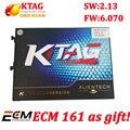 2017 Новый KTAG V2.13 Оборудования V6.070 ScannerK ТЕГ Программирования ECU Мастер Версия Без Лексем Ограничено несколькими языками К-TAG