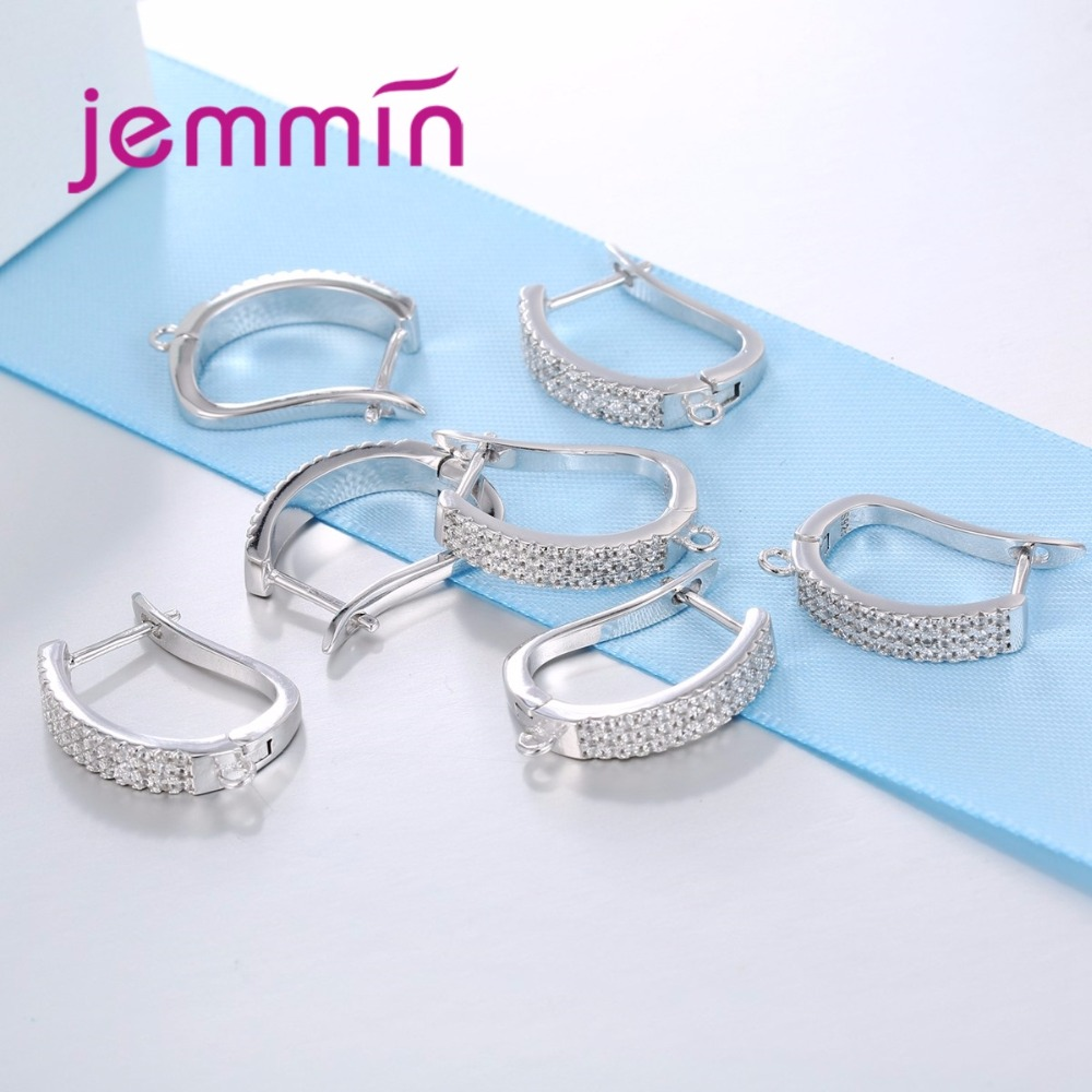 Jemmin New Arrival Full Clear Cubic Zirconia 925 Sterling Silver - Fine Jewelry - Photo 3