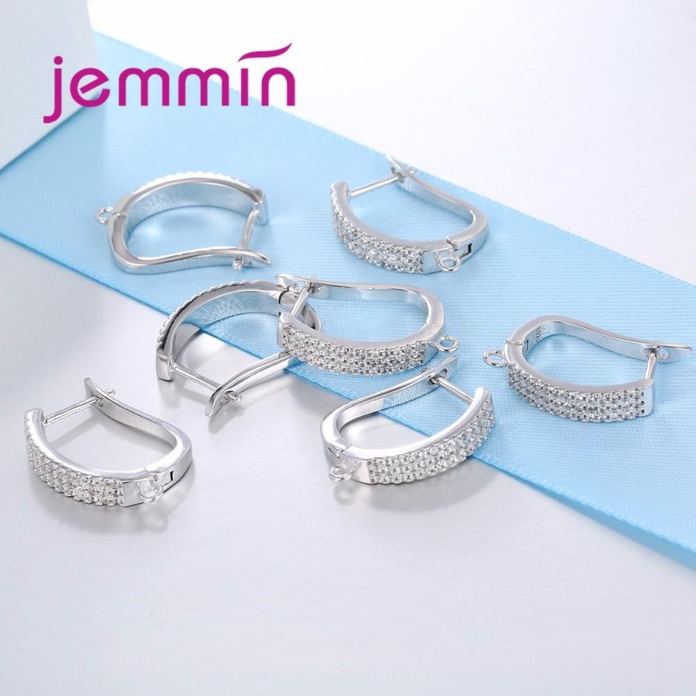 Jemmin Baru Kedatangan Penuh Batal Cubic Zirconia 925 Sterling Silver - Perhiasan bagus - Foto 3