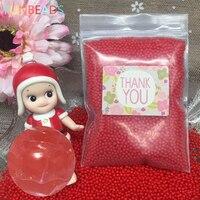 10000pcs/bag Crystal Soil Hydrogel Gel Polymer Orbiz Water Beads Flower/Wedding/Decoration Maison Growing Water Balls