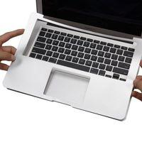 Full Guarda pulso pad Resto tampa da pele Para O Novo Macbook Pro 16 A2141 Pro 13 15 11 barra de toque Do Ar 13 12 Retina polegadas-Prata