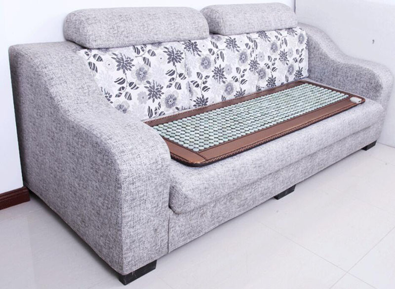 50 * 150cm jade sofa cushion, tomalene germanium stone far infrared electric heating health massage mattress long cushion 2016 electric heating massage jade stone mattress korean mattress wholesaler 1 2x1 9m
