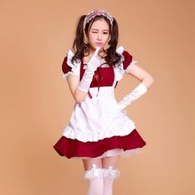 3d135fed851 halloween costumes for women maid plus size Sexy French Maid Costume Sweet  Gothic Lolita Dress Anime Cosplay Sissy Maid Uniform