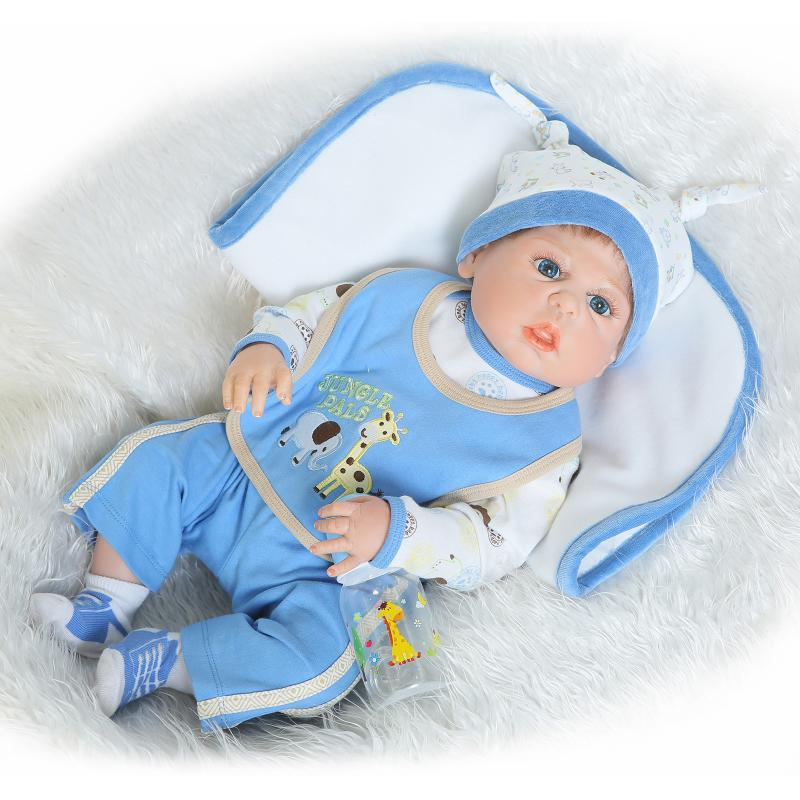 22 full silicone vinyl body reborn dolls baby reborn girl soft body best children sleeping boy gift toys brinquedos bonecas 58CM Soft Silicone Reborn Baby Dolls Full Boy Body Vinyl Realistic Doll Reborn Bebe Alive Dolls Brinquedos Bonecas Kids Gifts