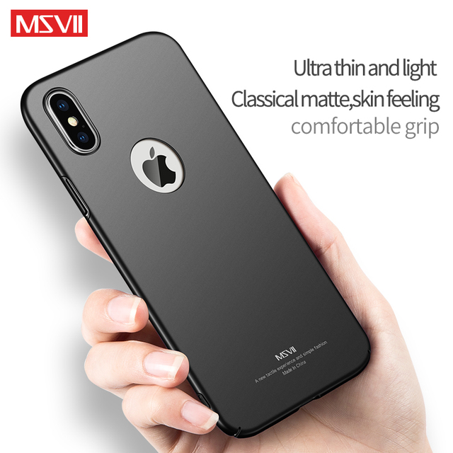 iPhone XR X XS Max Case Hard PC Protection Cover Ultra Slim Matte Case For Apple iPhone SE 5 5s 6 6s 7 8 Plus Phone Cases