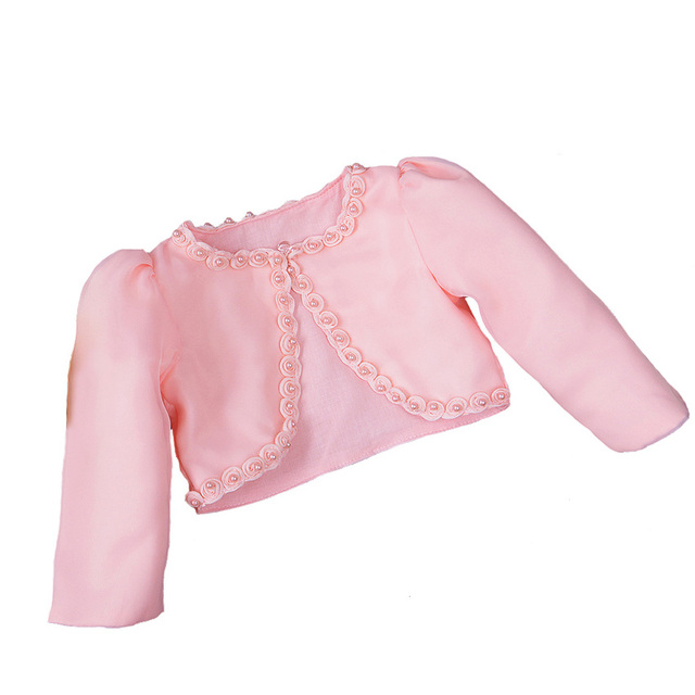 a0c71cb89 Formal Baby Girls Coat Beaded Shawl Cardigan Dress Outer Wear Infant ...