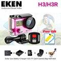 New Eken 4 K H3/H3R remoto camer Esportes Ultra HD 4 K WiFi 1080 P dual screen 2.0 ir à prova d' água pro go pro hero 4 style ação cam
