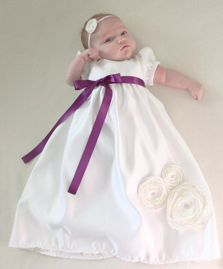 100% Handmade High Quality Cotton Heirloom Baptism Clothes Dresses Layer Christening Baptism Gown Fashion Easter Dress 0-2 Years