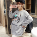 Autumn long sleeved shirt maternity clothes fashion maternity 2016 new fall pregnant sweater large size