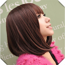Cute Straight Heat Resistant Wig Multi colour