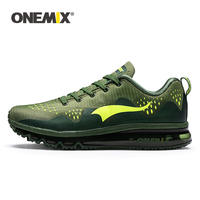 ONEMIX New Men Running Shoes Sports Sneakers Damping Cushion Breathable Outdoor Lace up Air Trainers Men Walking Tennis Shoes