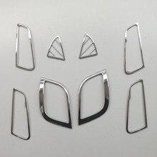 Free Shipping Interior Trim Ring Dash Board Air Conditioning Vent Door  Handle Cover For Hyundai Solaris