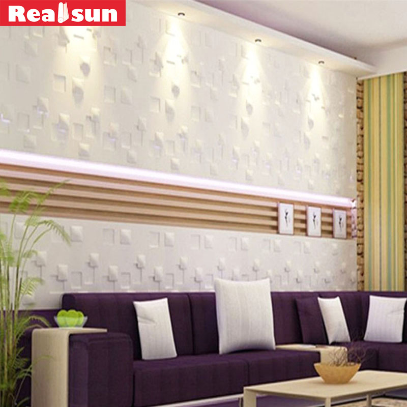 Autocollants muraux 3D en PVC 50*50cm   Nouvel autocollant de cuisine, chambre à coucher, accessoires de décoration de la maison, marque, 2018