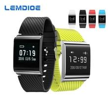 Lemdioe X9 плюс Фитнес умный Браслет Часы Приборы для измерения артериального давления смарт-браслет с сердечного ритма Мониторы крови кислородом Мониторы