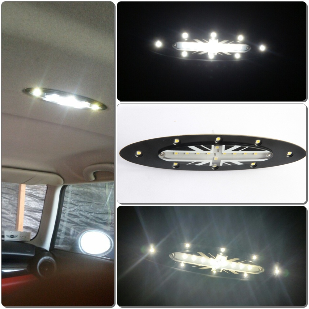 roof lighting design. free shipping 1pcs 18x white led interior roof dome light lamp for bmw mini cooper s roof lighting design