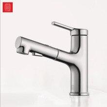 Youpin DABAI Bad Becken Waschbecken Wasserhahn Ziehen Rinser Sprayer Gurgeln Bürsten 2 Modus Mischbatterie Cold & Hot Badewanne wasserhahn