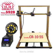 3D Printer Machine CREALITY 3D CR-10 3d printer diy reprap prusa i3 size 500*500*500mm V-solt metal frame DIY Kit high precision