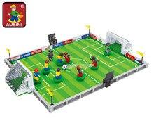 AUSINI 25590 Model building kits city football 251 Pcs 3D blocks Educational model building toys hobbies