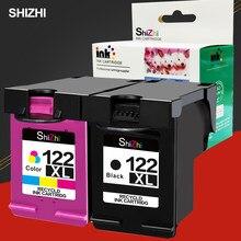 Serie SHIZHI Substituição Do Cartucho De Tinta Remanufactured para HP 122 Deskjet 1000 1050 2000 2050 s 3000 3050A 3052A 3054 1010 1510