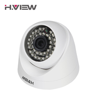 H.View CCTV Camera 1080P 2.0MP Dome Surveillance Camera IR Security Camera for Analog Surveillance Kit with BNC Connector