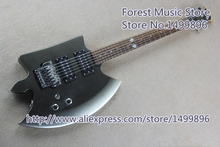 Hot Selling AXE Electric Guitars Heart Art Logo & Chrome Floyd Rose Tremolo In Stock
