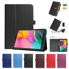 New PU+Leather Flip Case Cover For Samsung Galaxy Tab A 10.1 2019 SM-T510 T515 Magnetic Folding PU