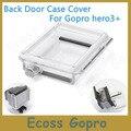 Gopro hero3 + (plus) cubierta de go pro pantalla lcd bacpac backdoor lcd panel de cubierta impermeable para gopro hero3 + accesorios