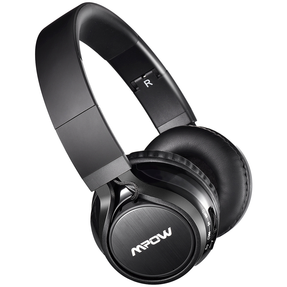 MPOW Thor Foldable Over-head Wireless Earphone Bluetooth Headphones Stereo Headphones Hands-free Calling w/ Mic for IOS Anfroid sony mdrzx310ap over head headphones with mic