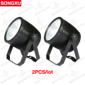 SONGXU 2pcs/lot 1X 60W 3in1 RGB LED COB Mute LED Par Light With Colorful Lighting Effect/SX-PL0160