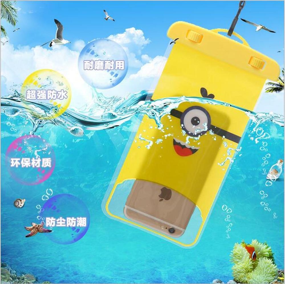 Waterproof PVC Bag Case Pouch Phone Cases For BQ BQS-4515 Moscow 4516 Singapore 4552 Melbourne 4700 Harvard 4701 Venice