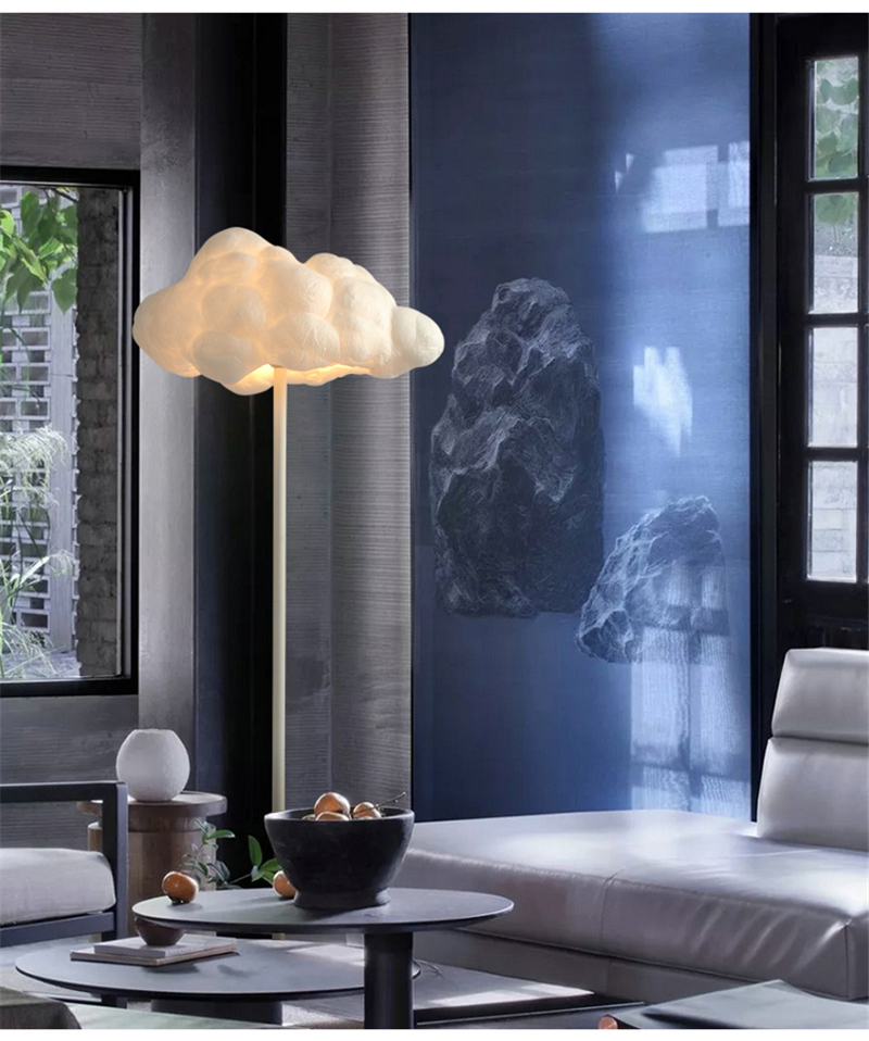 Floating Cloud Floor Lamp - Lamps & Lighting