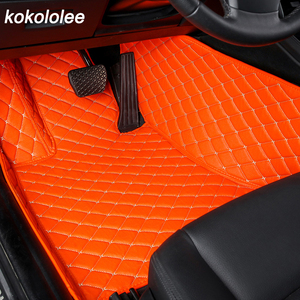 Image 3 - kokololee custom car floor mats for honda accord 2003 2007 2019 city jazz crv civic stream elysion spirior insight floor mats