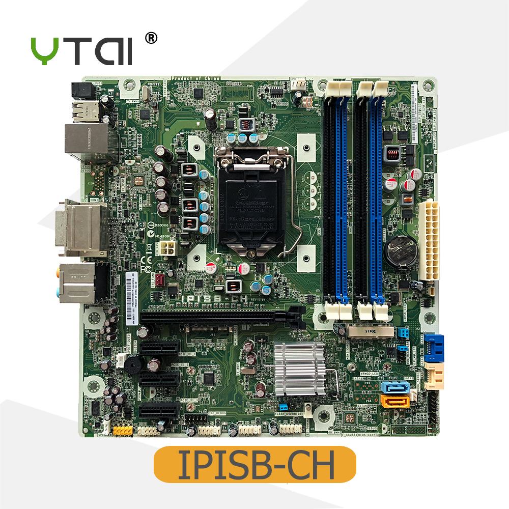 Original new for HP IPISB-CH desktop motherboard LGA1155 H67 DDR3 636477-001 623914-001 mainboard fully tested цена