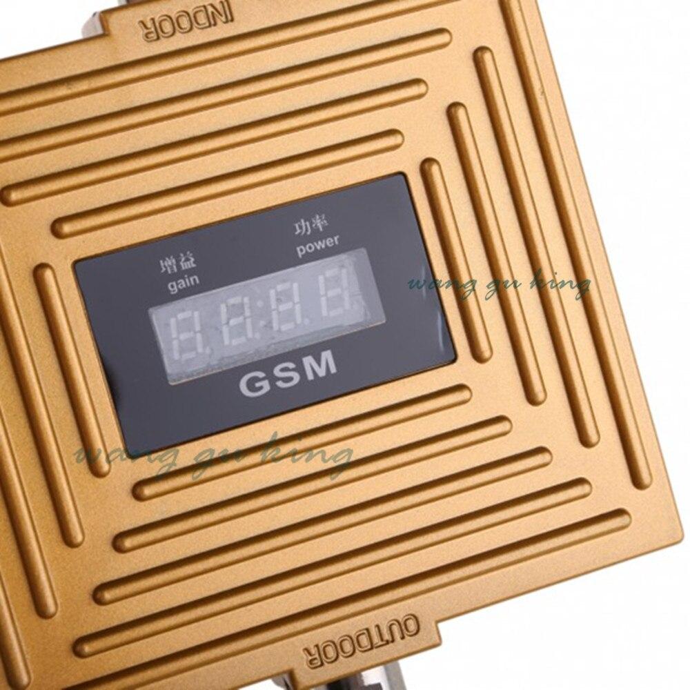 LED écran d'affichage téléphone Mobile GSM 900 MHz répéteur amplificateur couverture 2000 carré GSM signal booster